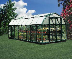 if you are a commercial grower the larger rion greenhouse model gh48 might serve commercial greenhouse needs of a small or a start up company - Commercial Greenhouse Kits