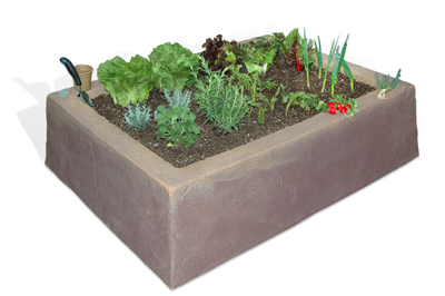 raised, bed, planter, garden